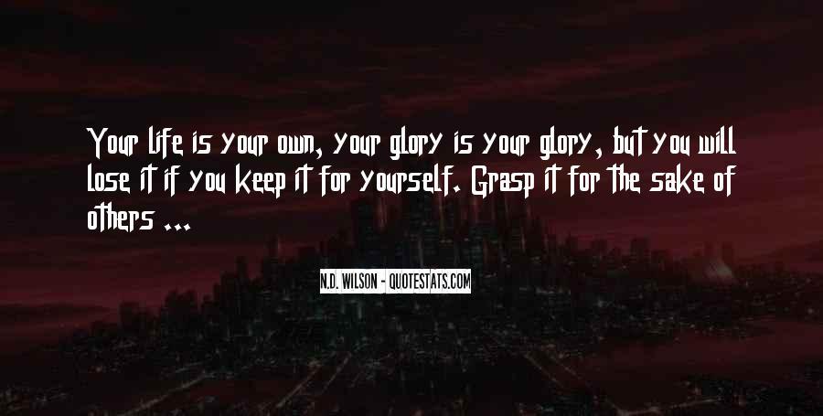 Grasp'd Quotes #1241337