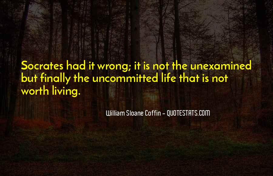 Quotes About Socrates Unexamined Life #921459