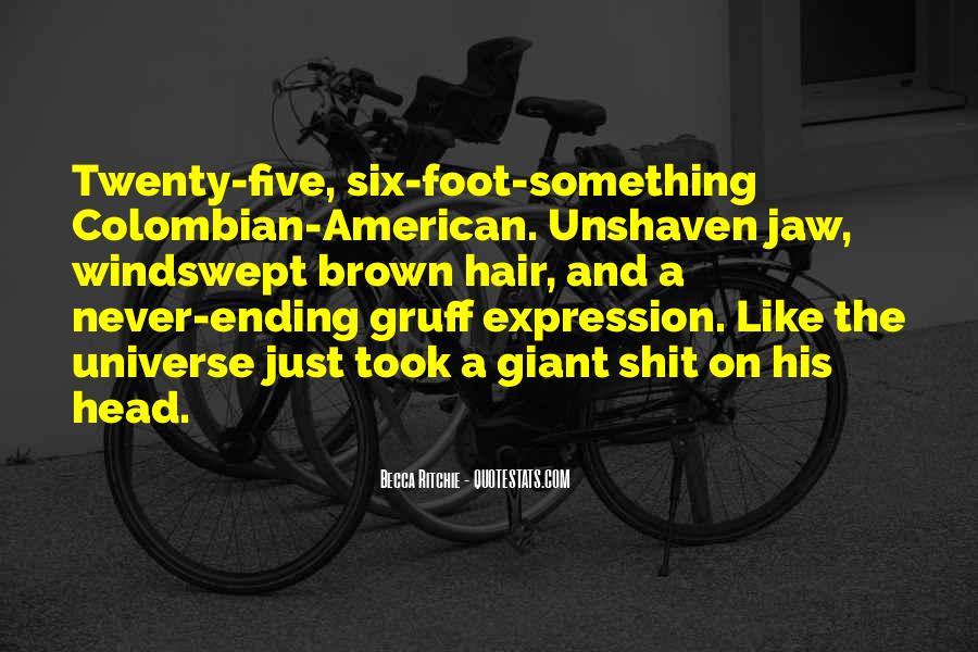 Gruff Quotes #420396