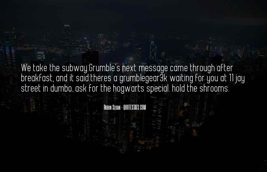 Grumble's Quotes #104166