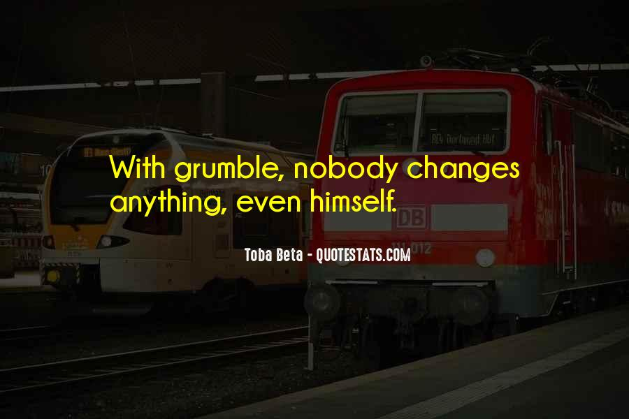 Grumble's Quotes #1259133