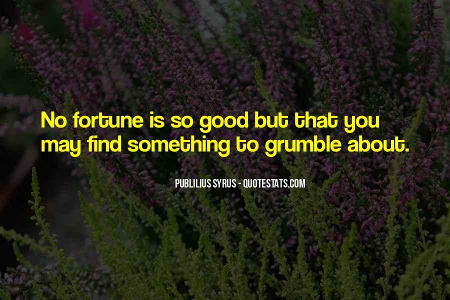 Grumble's Quotes #413973