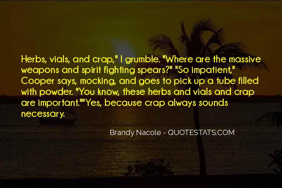 Grumble's Quotes #463035