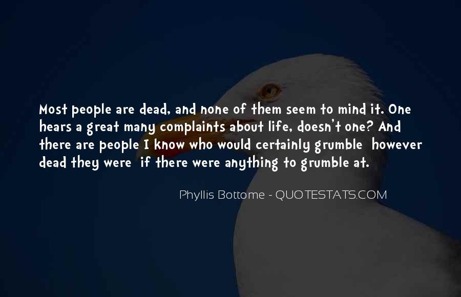 Grumble's Quotes #686148