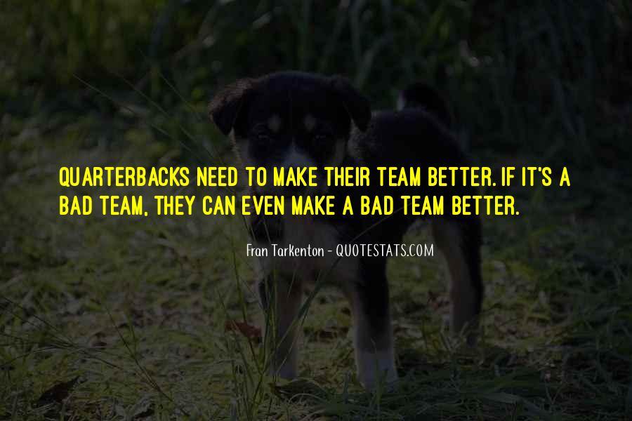 Quotes About Quarterbacks #102531