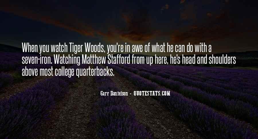 Quotes About Quarterbacks #1037708