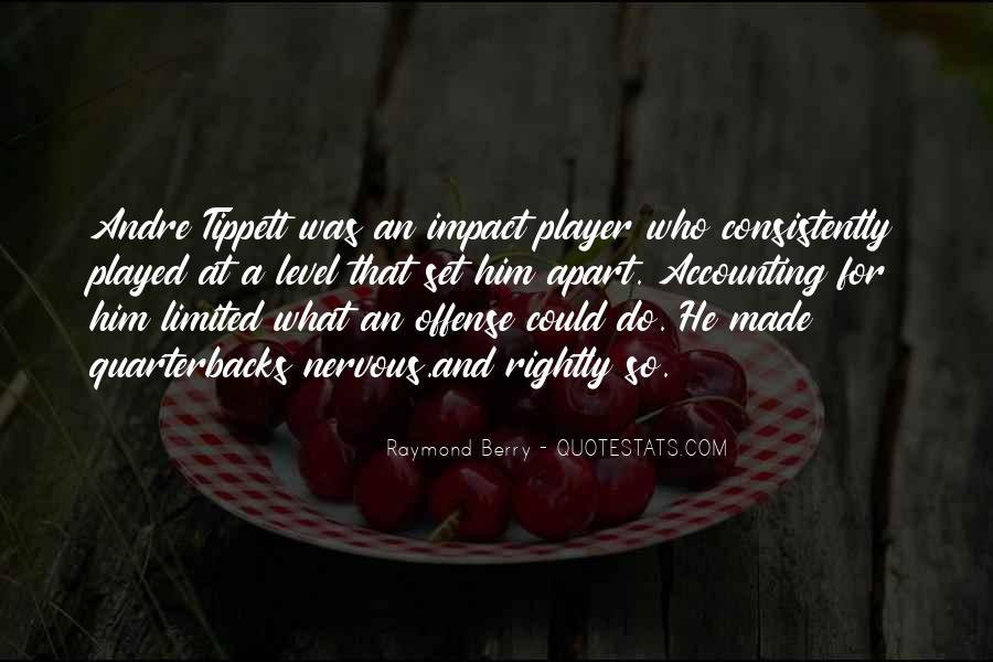 Quotes About Quarterbacks #1190482