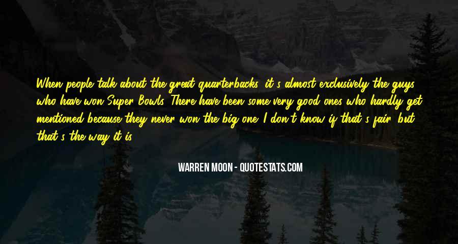 Quotes About Quarterbacks #1301715