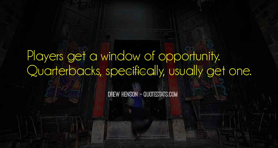 Quotes About Quarterbacks #1597945