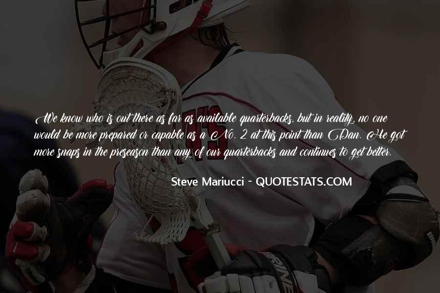 Quotes About Quarterbacks #1722452