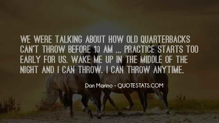 Quotes About Quarterbacks #176816