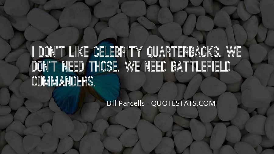 Quotes About Quarterbacks #1853510