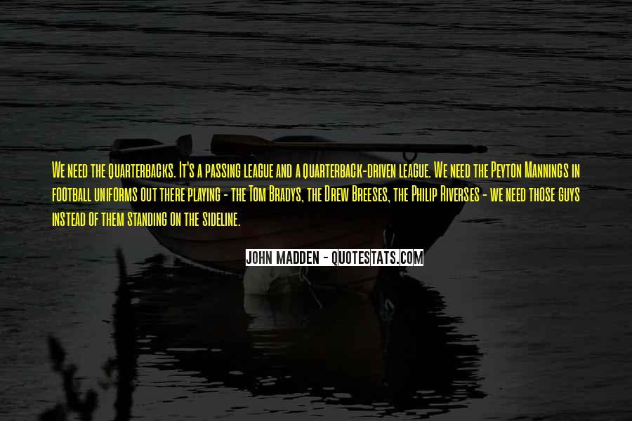 Quotes About Quarterbacks #1865275