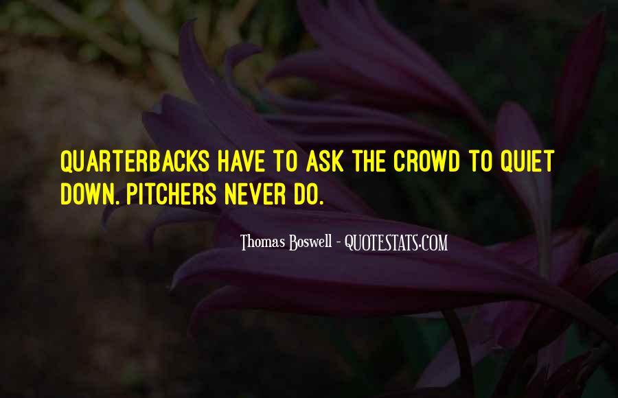 Quotes About Quarterbacks #1877383