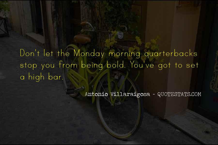Quotes About Quarterbacks #356885