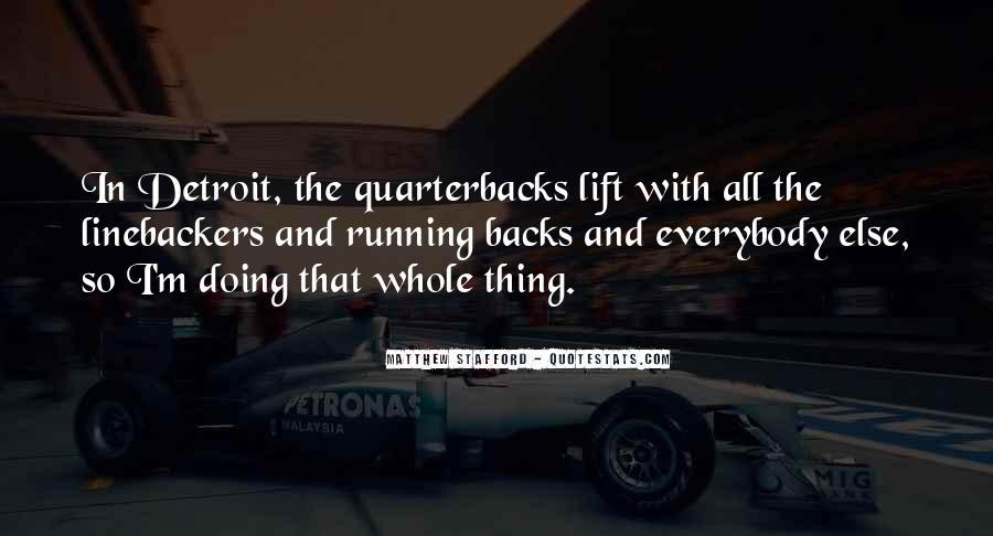 Quotes About Quarterbacks #397504