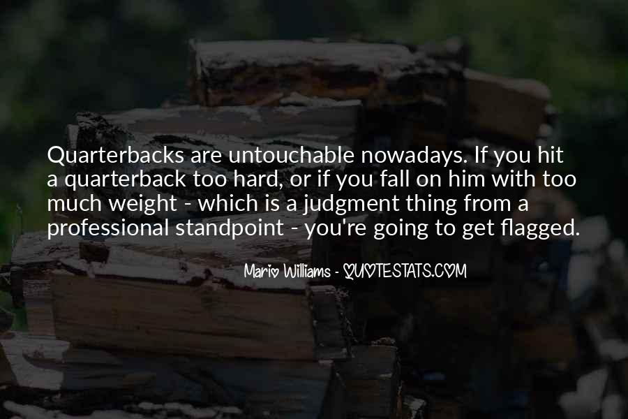 Quotes About Quarterbacks #427762