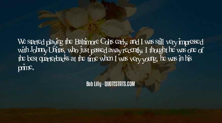 Quotes About Quarterbacks #648314