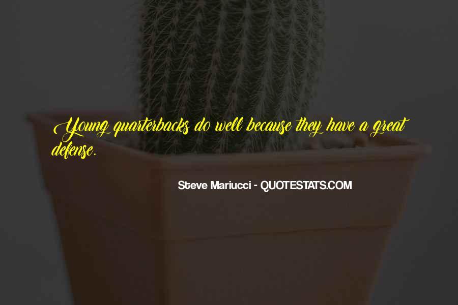 Quotes About Quarterbacks #975059