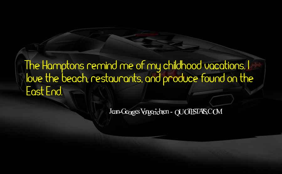Quotes About Vacations On The Beach #1862125