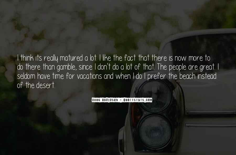 Quotes About Vacations On The Beach #377462