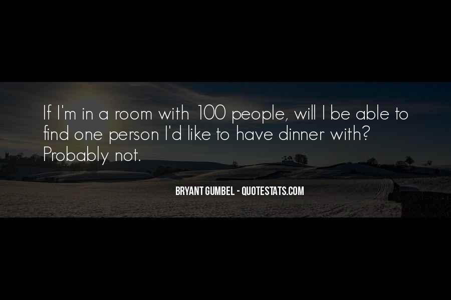 Gumbel's Quotes #1114825