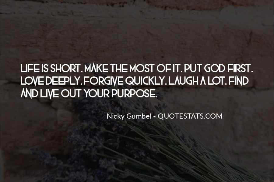 Gumbel's Quotes #1390613