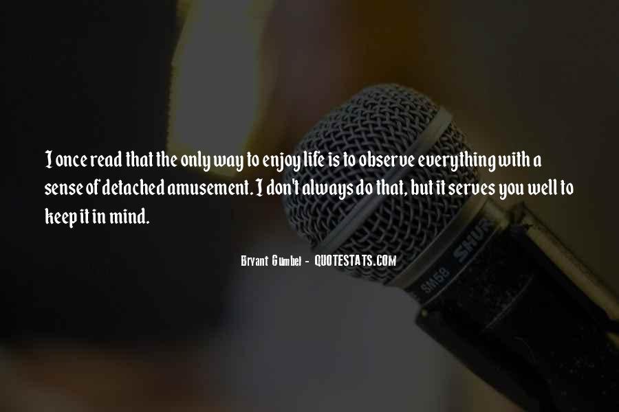 Gumbel's Quotes #1762601