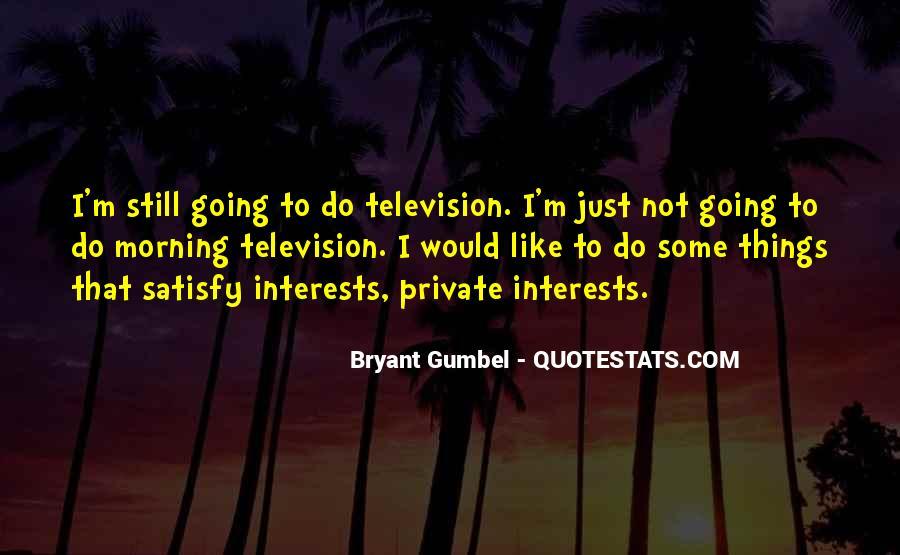 Gumbel's Quotes #280408