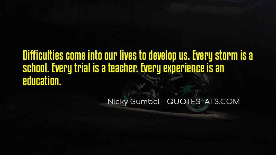 Gumbel's Quotes #360884