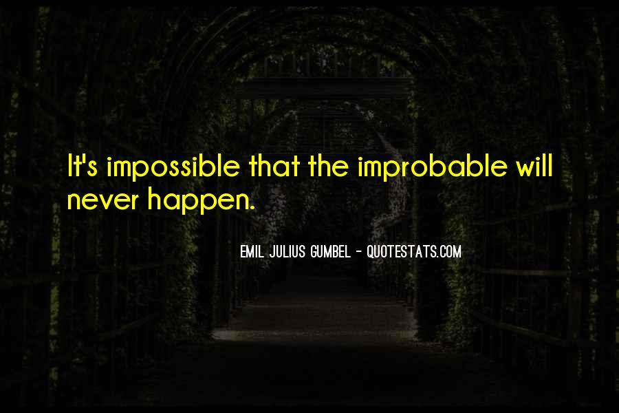 Gumbel's Quotes #397118