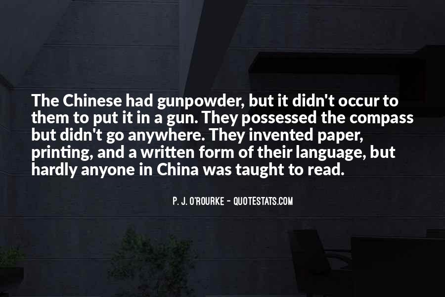 Gunpowder's Quotes #1002491