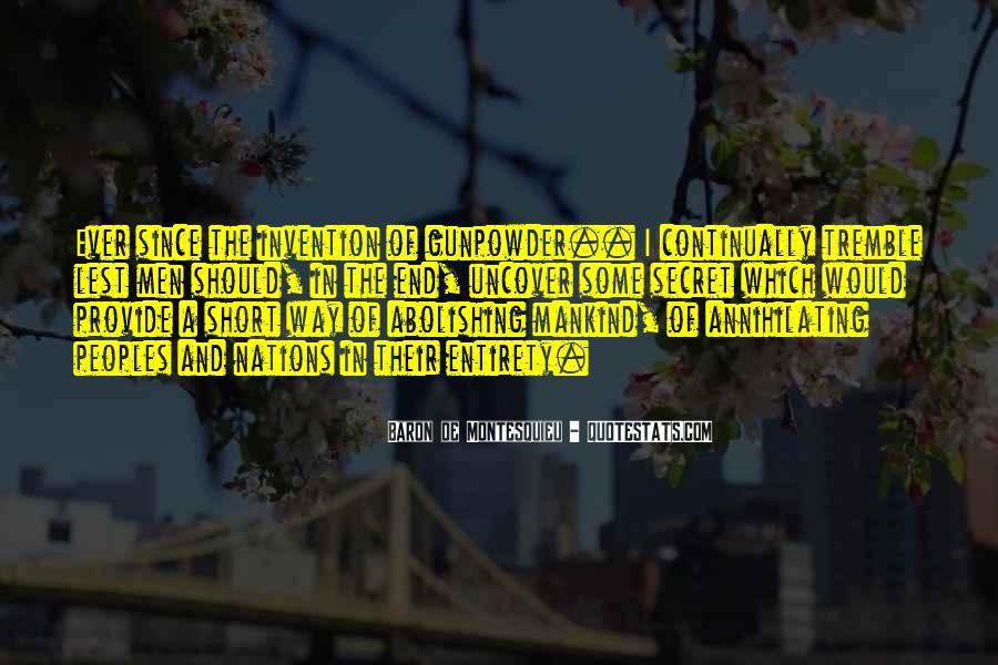 Gunpowder's Quotes #1565664
