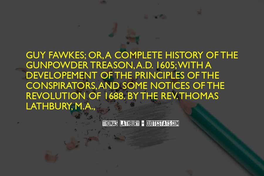 Gunpowder's Quotes #595214