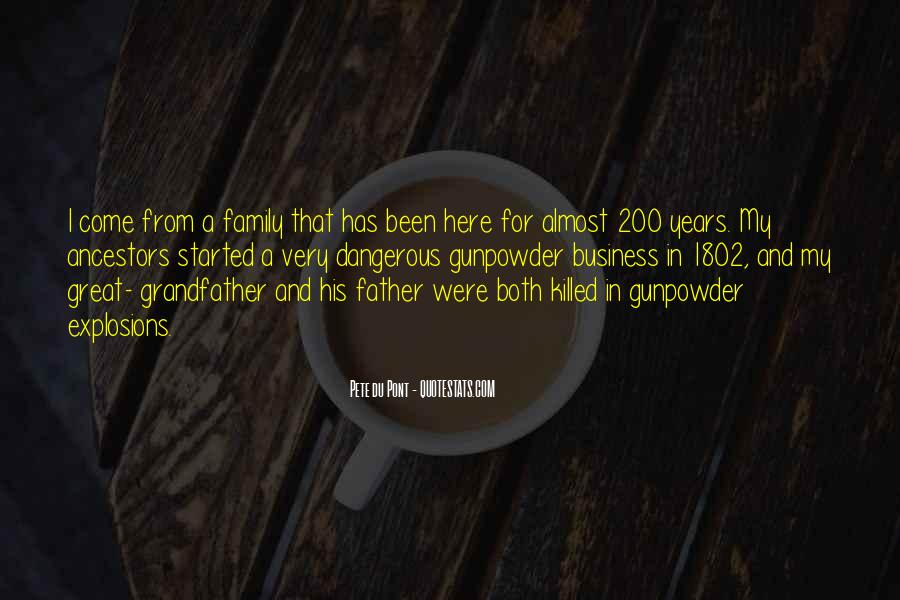 Gunpowder's Quotes #710140