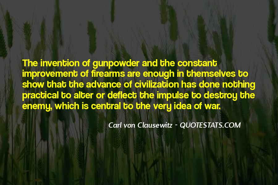 Gunpowder's Quotes #904446