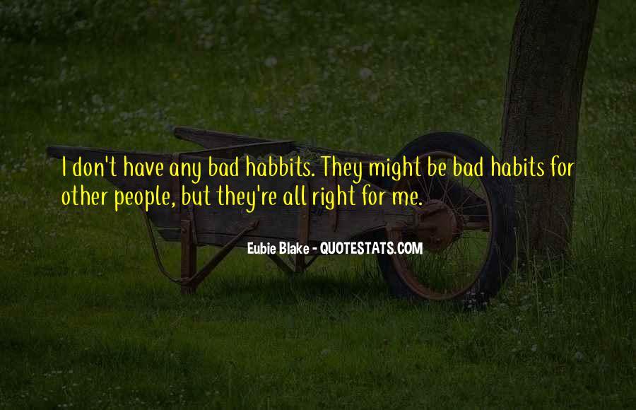 Habbits Quotes #1661301