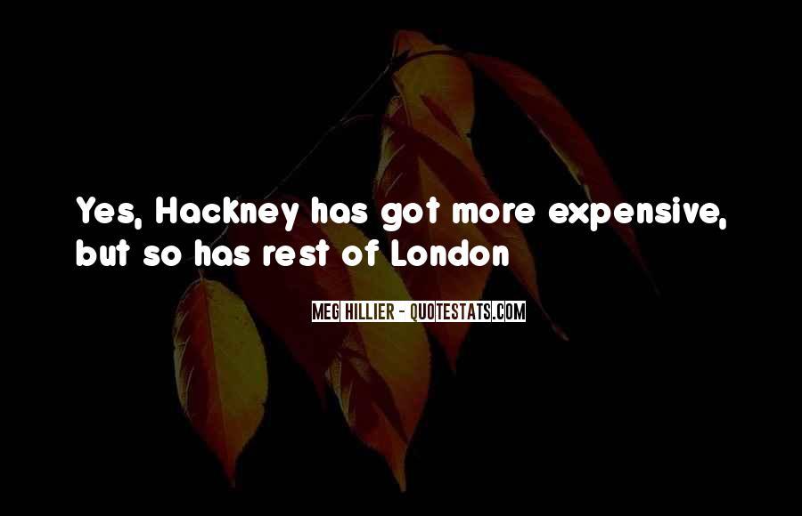 Hackney's Quotes #136190