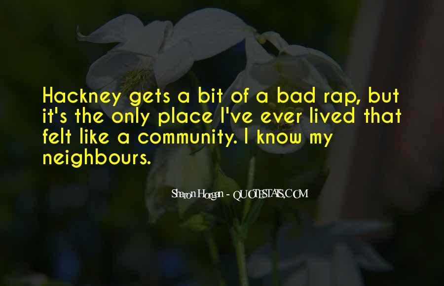 Hackney's Quotes #722659