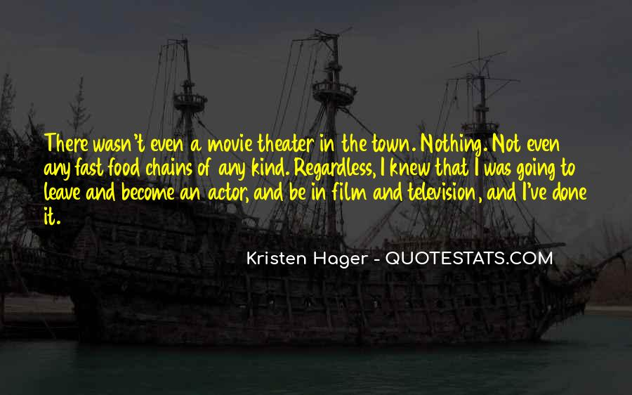 Hager Quotes #389467