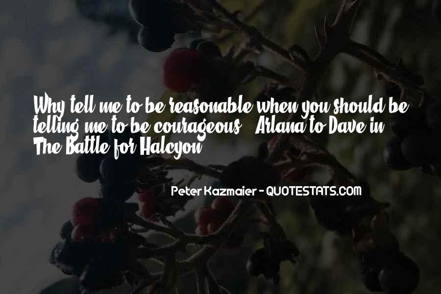Halcyon's Quotes #1120169