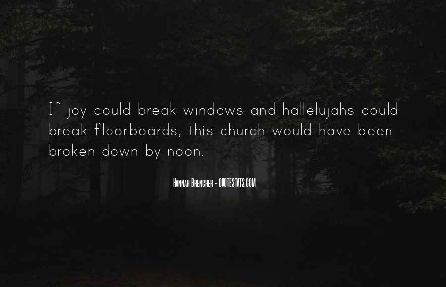 Hallelujahs Quotes #678299