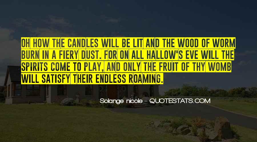 Hallow'd Quotes #1658616