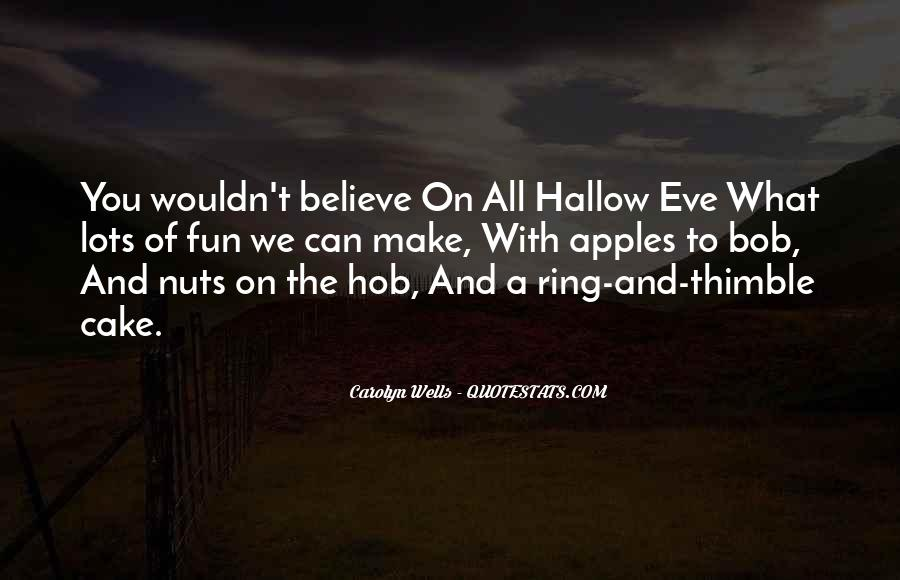 Hallow'd Quotes #459201