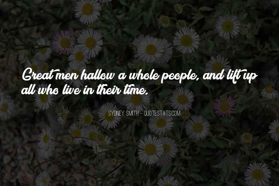 Hallow'd Quotes #596679