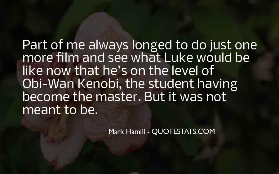 Hamill's Quotes #1037482