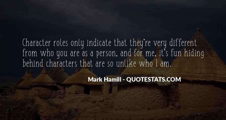 Hamill's Quotes #1300394