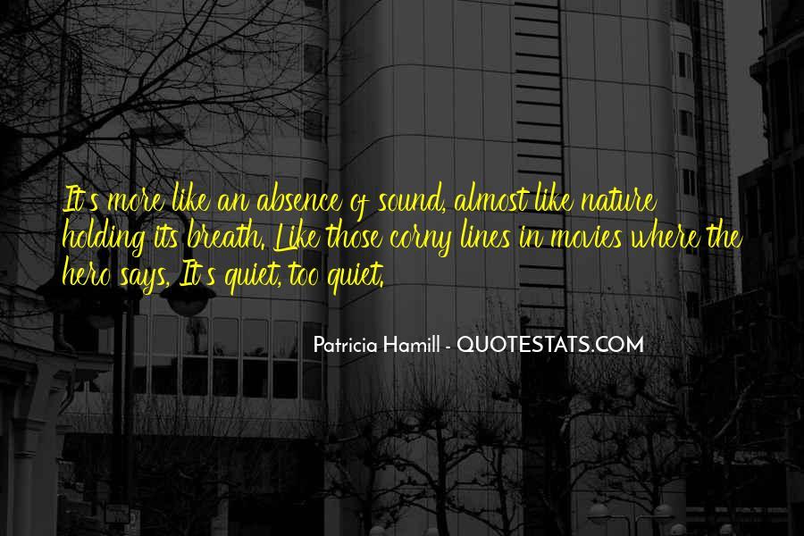 Hamill's Quotes #1503113