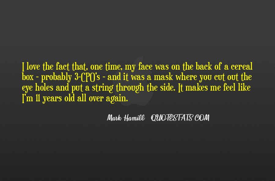 Hamill's Quotes #1503553