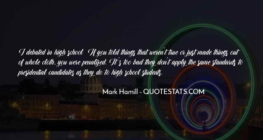 Hamill's Quotes #959950